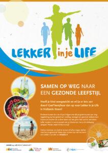 A3 poster Lekker in je Life Hollands Kroon
